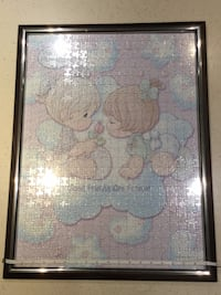Precious  Moments completed puzzle and frame Vancouver, V5Y 0E4
