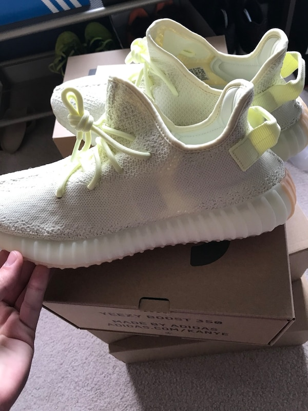 ec1fdc9b956a9 Used Yeezy 350 V2 Butter Size 11.5 With Sole Shield for sale in Saint  Charles - letgo