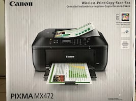 Canon Printer- PIXMA MX472-All in One Inkjet