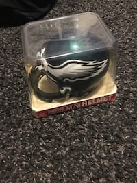 Philadelphia Eagles mini replica football helmet