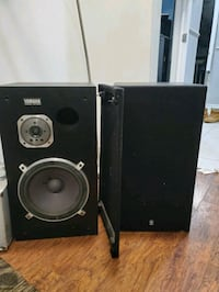 Yamaha speakers (make me a offer) PICK UP ONLY