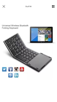 Bluetooth keyboard for all devices phone iPads tablet compatible with iOS. Android windows brand new fee fast shipping Matthews, 28105