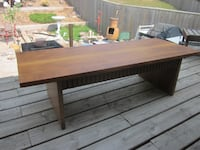 "Genuine Vintage Mid Century Rare Knechtel ""Lane"" Solid Walnut Coffee Table 1962 km"