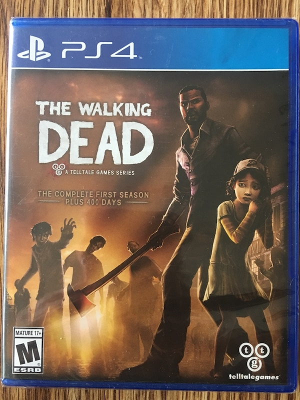 The Walking Dead 3 PS4 games