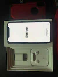 Brand new iPhone X 64 GB space grey unlocked comes with all the original accessories and a case. Glass screen protector installed   3693 km