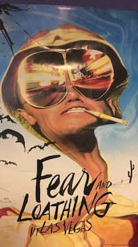 Fear and loathing poster Toronto, M9W 3G6