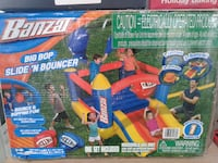 Bonzai big bop slide n bouncer brand new Wellford