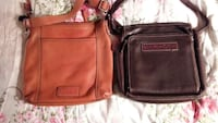 Fossil leather crossbody bags. 3754 km