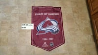 Colorado avalanche stanley cup flag Bedford, B4A