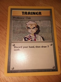 Pokemon professor oak card #88/102 Needham, 02494