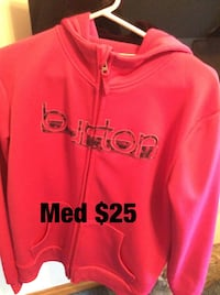 red and black Adidas pullover hoodie Cornwall, K6H 2R6