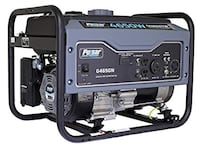 black and gray portable generator Hyattsville