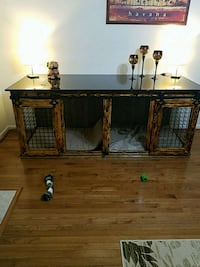 Dog Crate Cabinet  Sterling, 20166