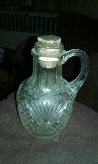clear glass pitcher Shamokin, 17872