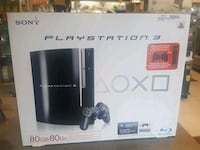 PS3 80 GIG IN BOX W ACC Ajax, L1S 4E5