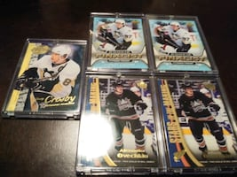 2005/06 UPPER DECK SIDNEY CROSBY -OVECHKIN CARDS