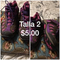 pair of black-and-pink leather boots Houma, 70363