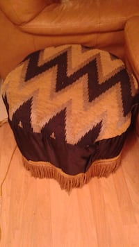 brown and black chevron print textile Mississauga, L4W 5S2