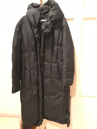 Elie Tahari Full-Length Down Coat, Large, Very Warm