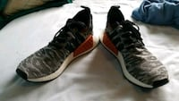 gray-and-white leopard print Adidas NMD R1's Oxnard, 93036