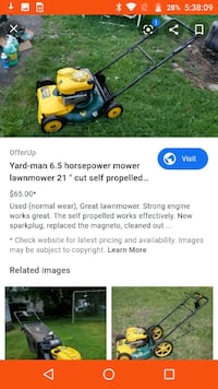 Used Yard Man Lawn Mower For Sale In Des Moines Letgo