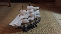 """15"""" Tall ship; wooden boat model Pike Road, 36064"""