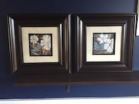 2 framed flower pictures  Gainesville, 20155