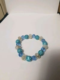 blue and white beaded bracelet Toronto, M1P 4S4