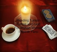 Reading turkish coffee and card . $50 each $30 I Speak Farsi  language. If you want Reading contact me for appointment in person or on the phone . Please send me Email:  [EMAIL_HIDDEN]  Richmond Hill