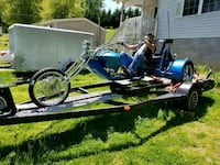 Trikes and custom trailer. Knoxville, 37924