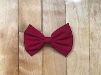 Red bow barrette for hair Montréal, H3S 1Y7