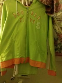 green and yellow button-up jacket Omaha, 68134