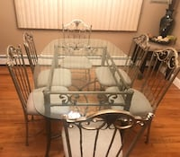 Dining Room Table And 6 Chairs Oyster Bay