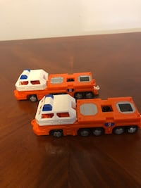 2 - 1997 Mattel Hot Wheels Transporters, #1 and #2, Orange Baltimore, 21236
