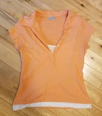 Maurices Tank Top Lined Polo Shirt (L)
