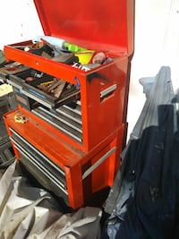 red and black tool chest West Sacramento, 95691