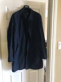 Bugatti rain coat . Men's , navy size 44 regular . Never worn