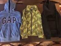 Boys Gap, Columbia,Root zip up and pull over sweaters $5 ea Gap is sold  London, N5W 6G2