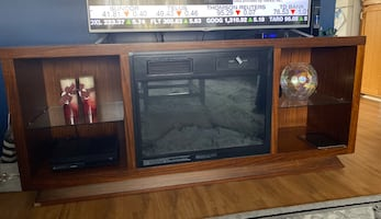 Entertainment Fireplace Unit Tv stand