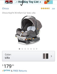 Chicco Baby's black and gray car seat  Rockville, 20852