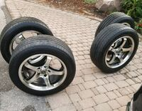 4 rims with tires