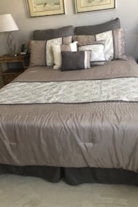Queen size bed set- new Silver Spring, 20905