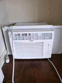 white Haier window type air conditioner Jarrettsville, 21084