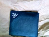 blue and black leather wallet Surrey, V3R 4J7
