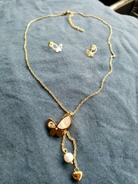 gold-colored necklace with pendant North Las Vegas, 89030
