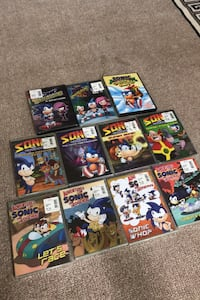 Brand New Sonic the Hedgehog Cartoon DVDs!!