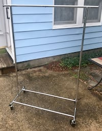 Mobile Adjustable Clothes Rail / Rack Washington, 20036