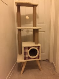 Brand new super cute and sturdy retro style cat trees in the box 5ft Spring Hill, 34606