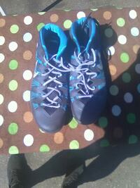 pair of blue-and-green Nike running shoes San Pablo, 94806
