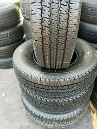 four black auto tire set Santa Fe Springs, 90670